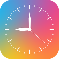 Digital Analog Clock Widget